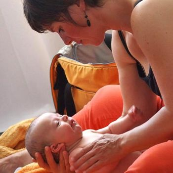 massage bébé initiation Annecy